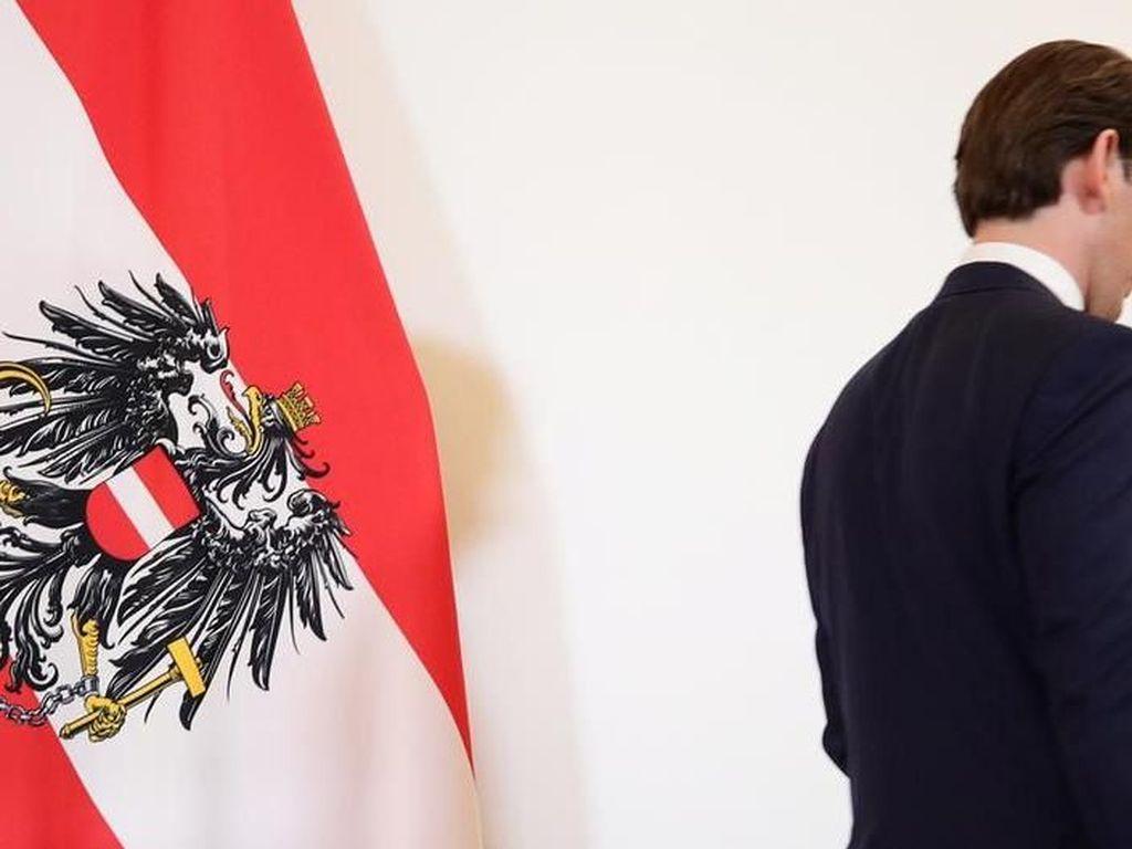 Pimpinan Austria Sebastian Kurz Dijatuhkan Mosi Tidak Percaya