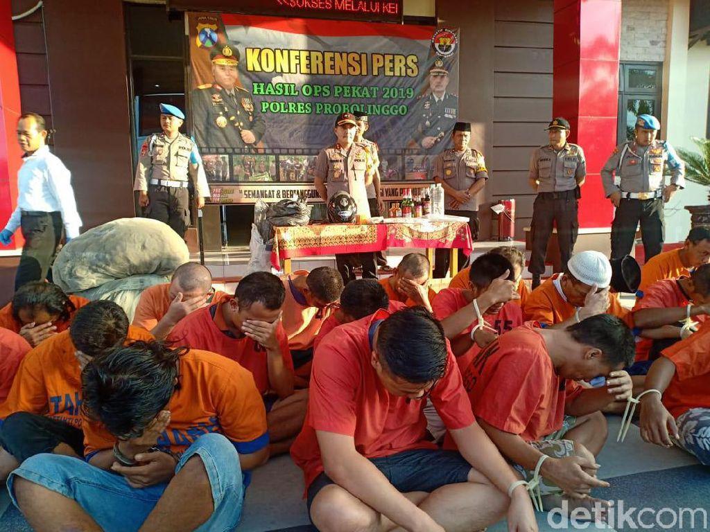 Ramadhan, 432 Pelaku Kriminal dari 248 Kasus Diamankan Polres Probolinggo