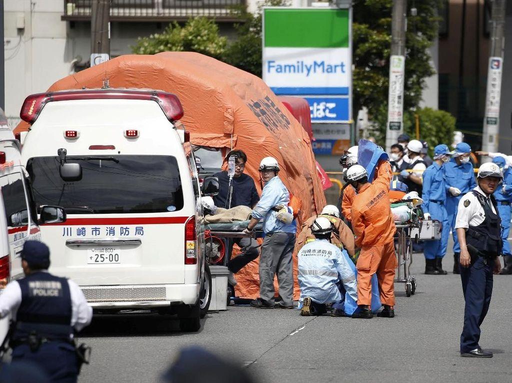Penikaman Massal di Jepang, 2 Orang Tewas
