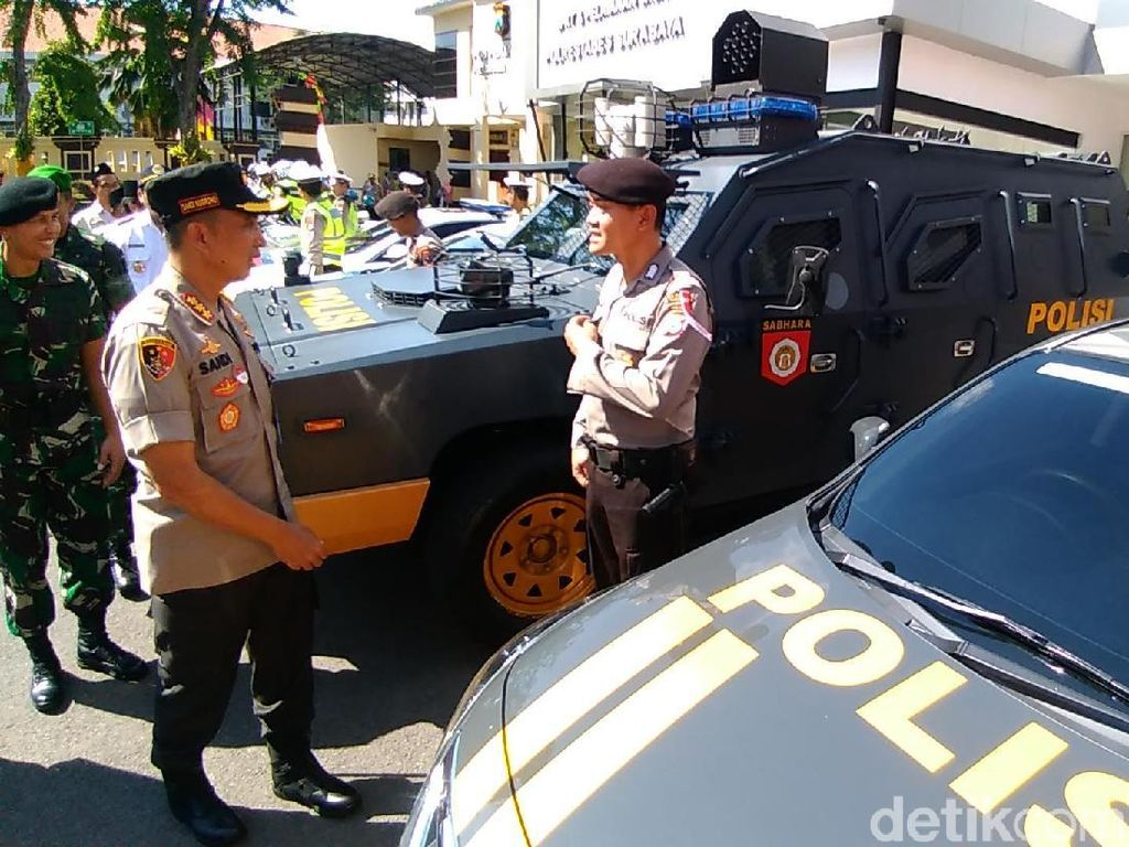 709 Personel Gabungan Amankan Surabaya Hingga 10 Juni Mendatang