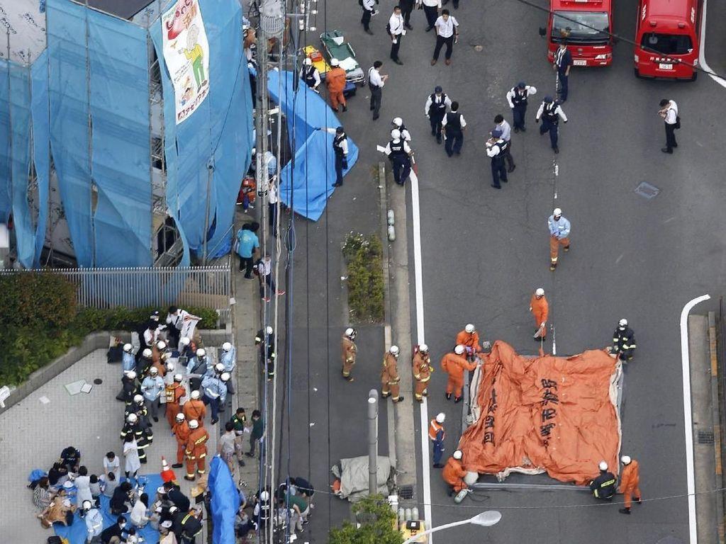 Video: Penikaman di Jepang, 1 Siswi Tewas dan 12 Orang Terluka
