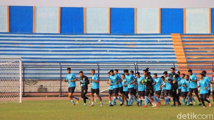 Dua pemain muda Persela Lamongan dipanggil seleksi di Yogyakarta.  (Eko Sudjarwo/detikSport)