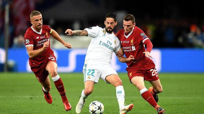 Andrew Robertson ingin membawa Liverpool menebus kekalahan dari Real Madrid musim lalu (Michael Regan/Getty Images)
