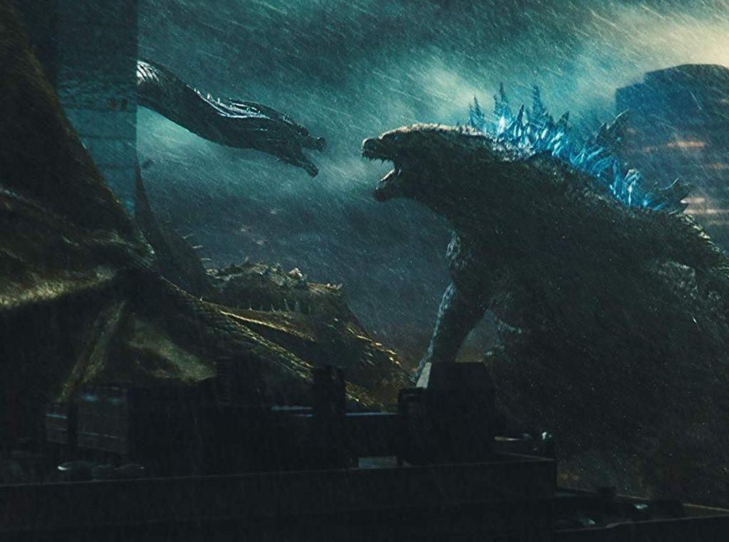 Weekend #DiRumahAja Makin Seru Nonton Godzilla di Transvision