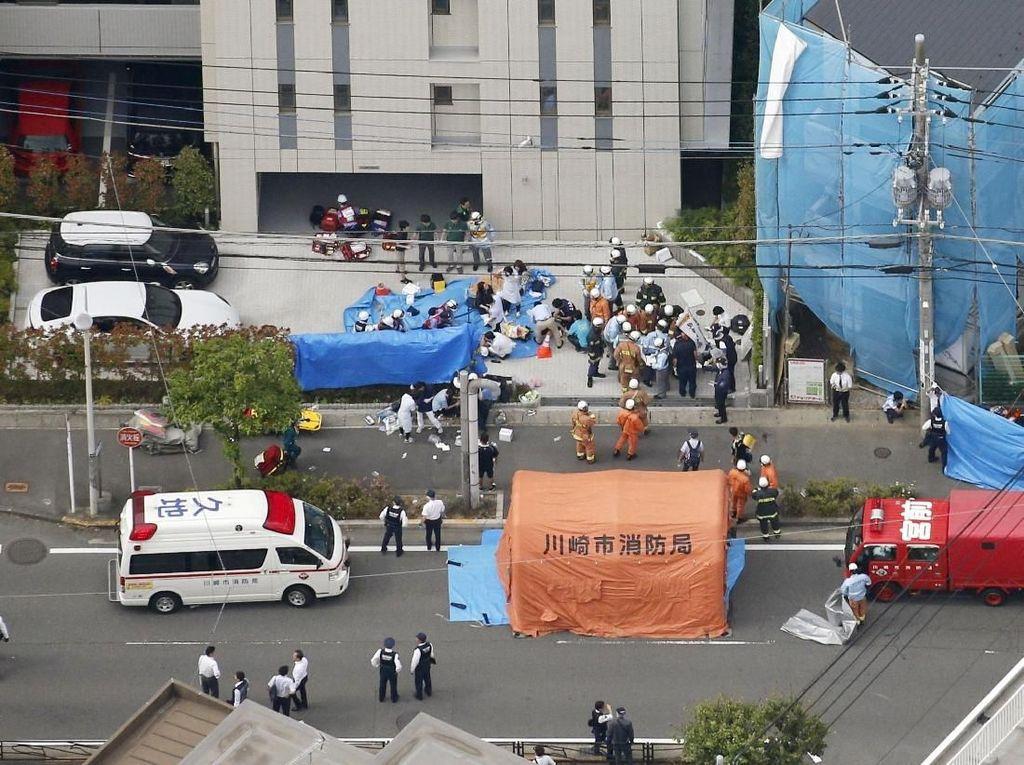 Ada di Jepang Saat Penikaman Massal Terjadi, Trump Doakan Korban
