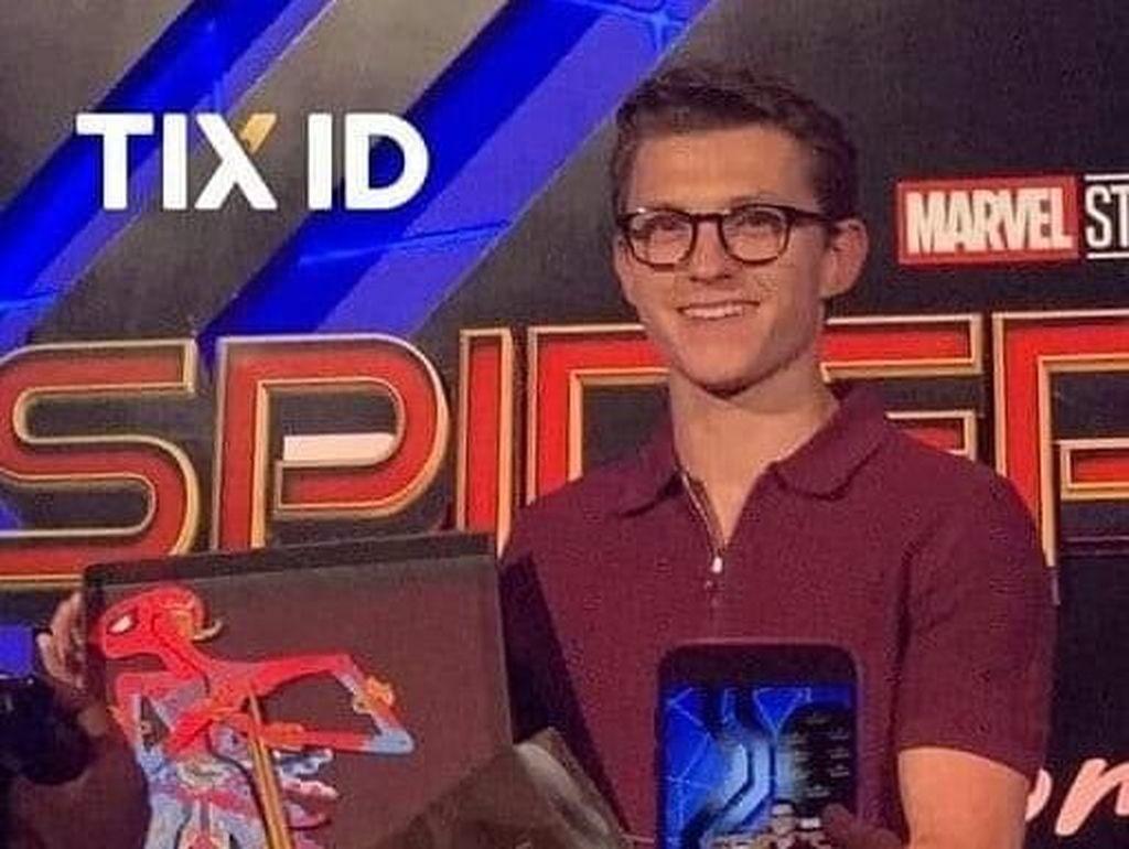 Digarap 4 Jam, Bentuk Muka Wayang Spider-Man Cukup Sulit
