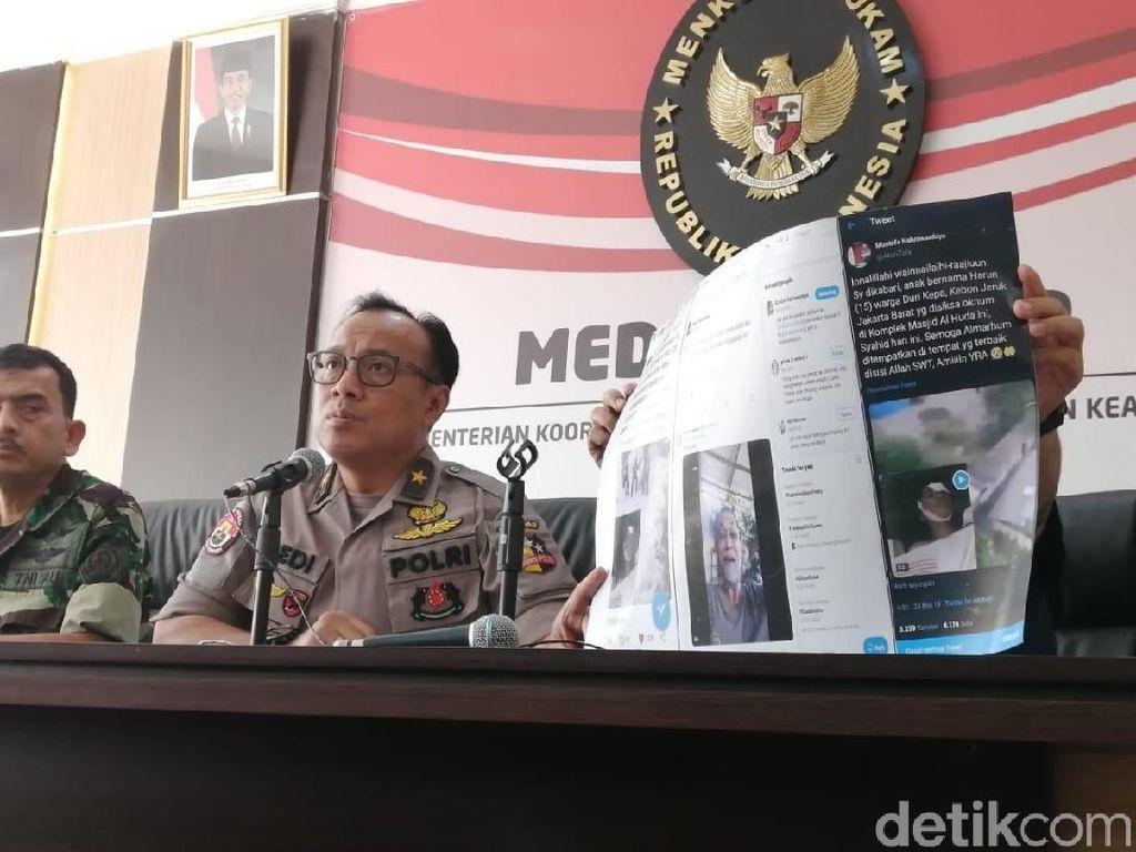 Polisi Ungkap Bos Lembaga Survei Jadi Target Pembunuhan Utama Perusuh 22 Mei