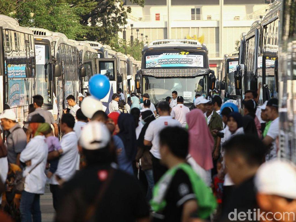15.000 Orang Ikut Mudik Gratis Bareng BRI