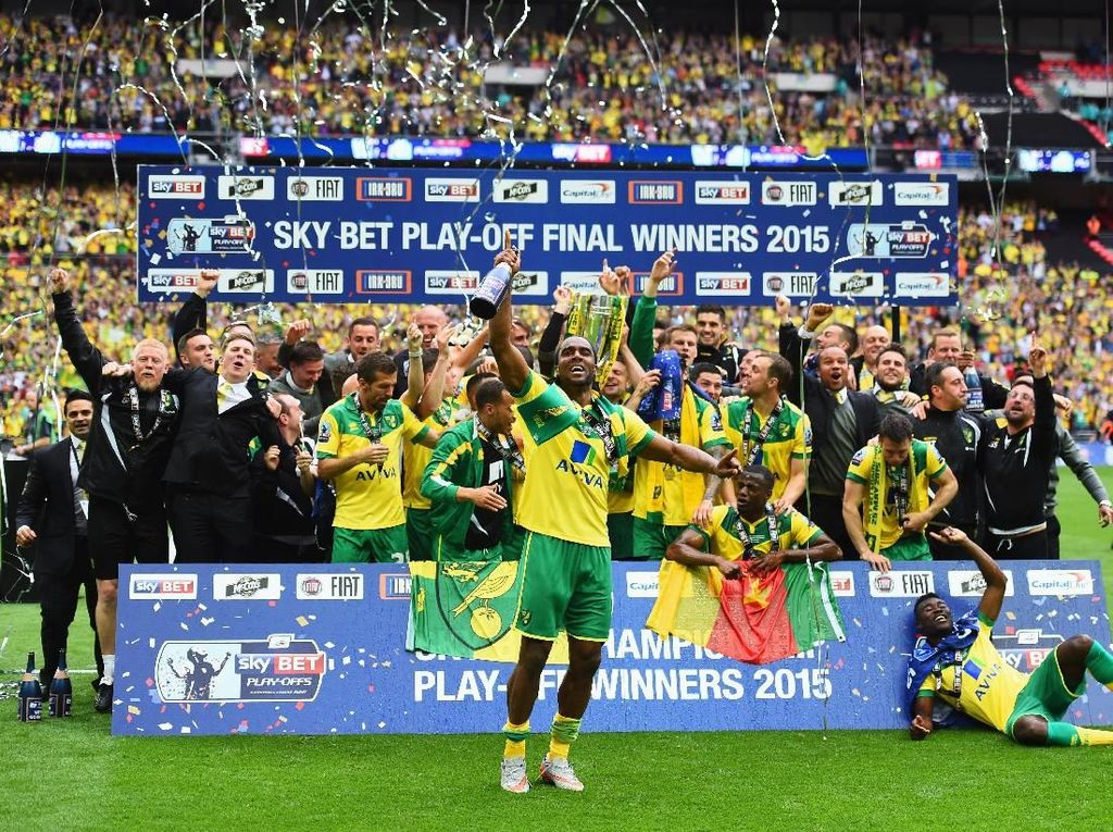 Mereka ke Premier League: Norwich City, Sheffield United, Aston Villa