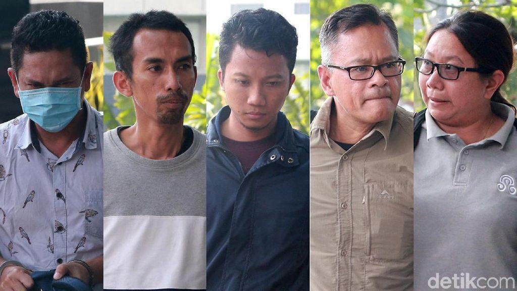 Ini 5 Wajah yang Terjaring OTT KPK di Imigrasi NTB