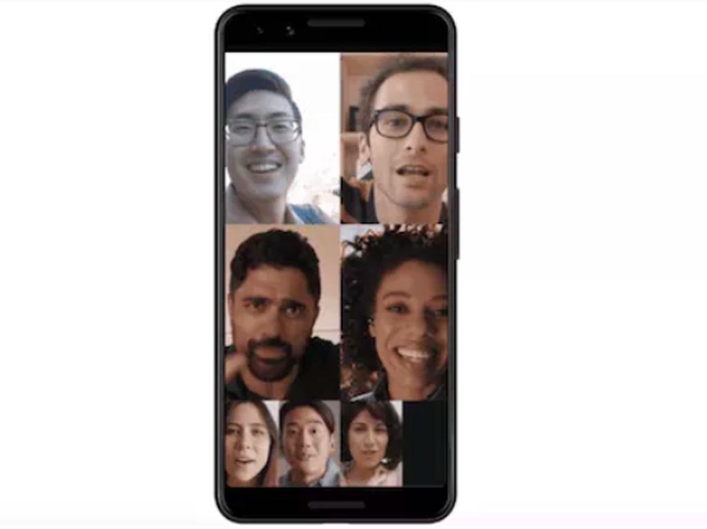 Panggilan Video Google Duo Bisa 8 Orang