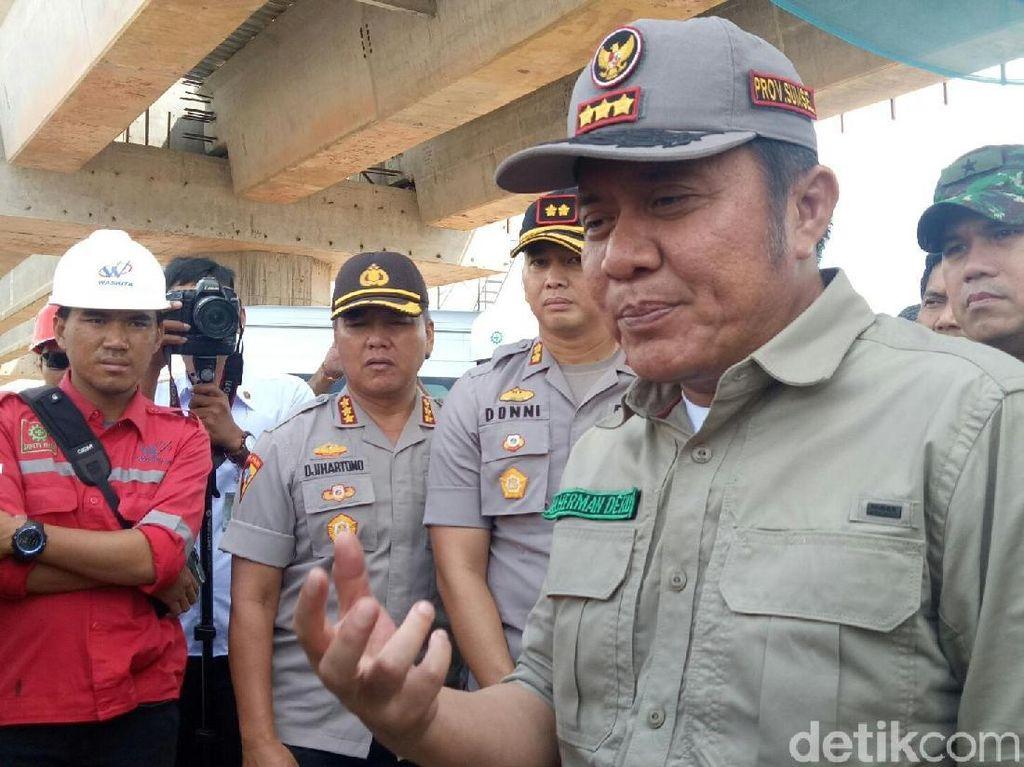 Gubernur Sumsel Pastikan Tol Kayuagung-Palembang Siap Dilalui Pemudik