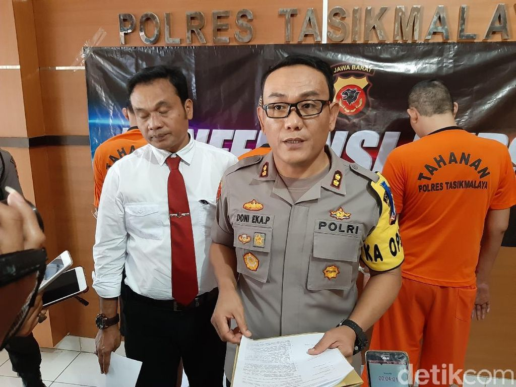 Demi Lebaran, 4 Residivis Bersenjata Rampok Minimarket Tasikmalaya