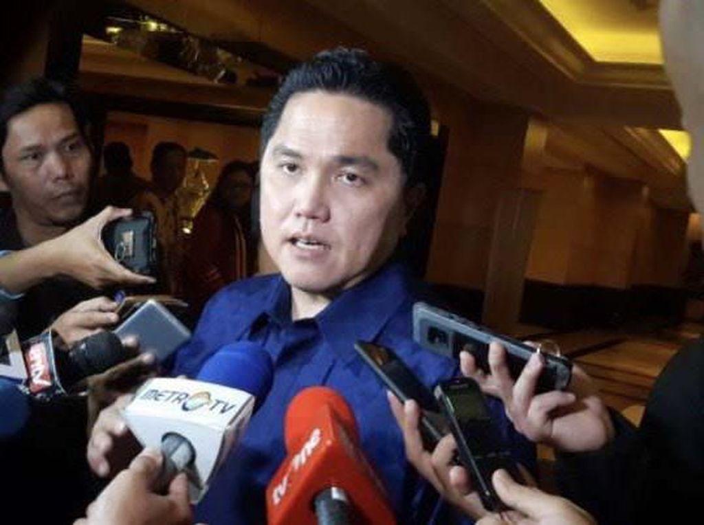 Erick Thohir & 9 Sekjen Parpol Jadi Pendamping Tim Hukum Jokowi di MK