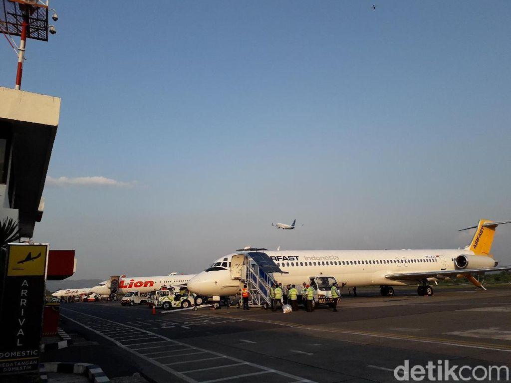 2 Bandara di Yogya Layani 29 Extra Flight Mudik Lebaran 2019
