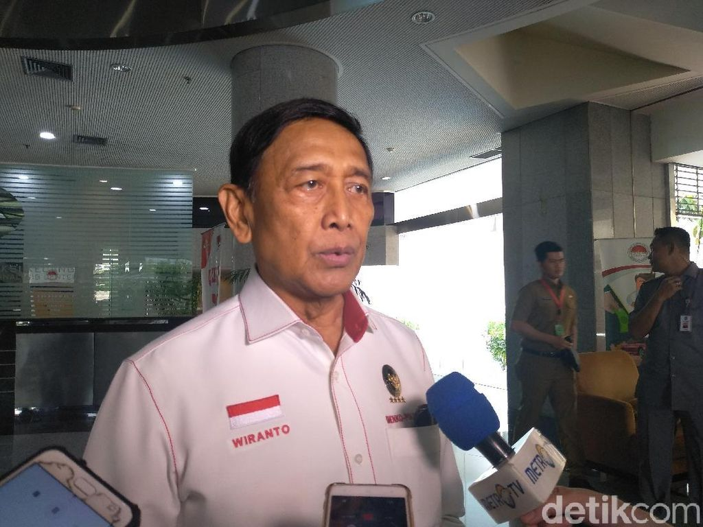 Wiranto Bersyukur Eks Panglima GAM Tutup Buku soal Isu Referendum