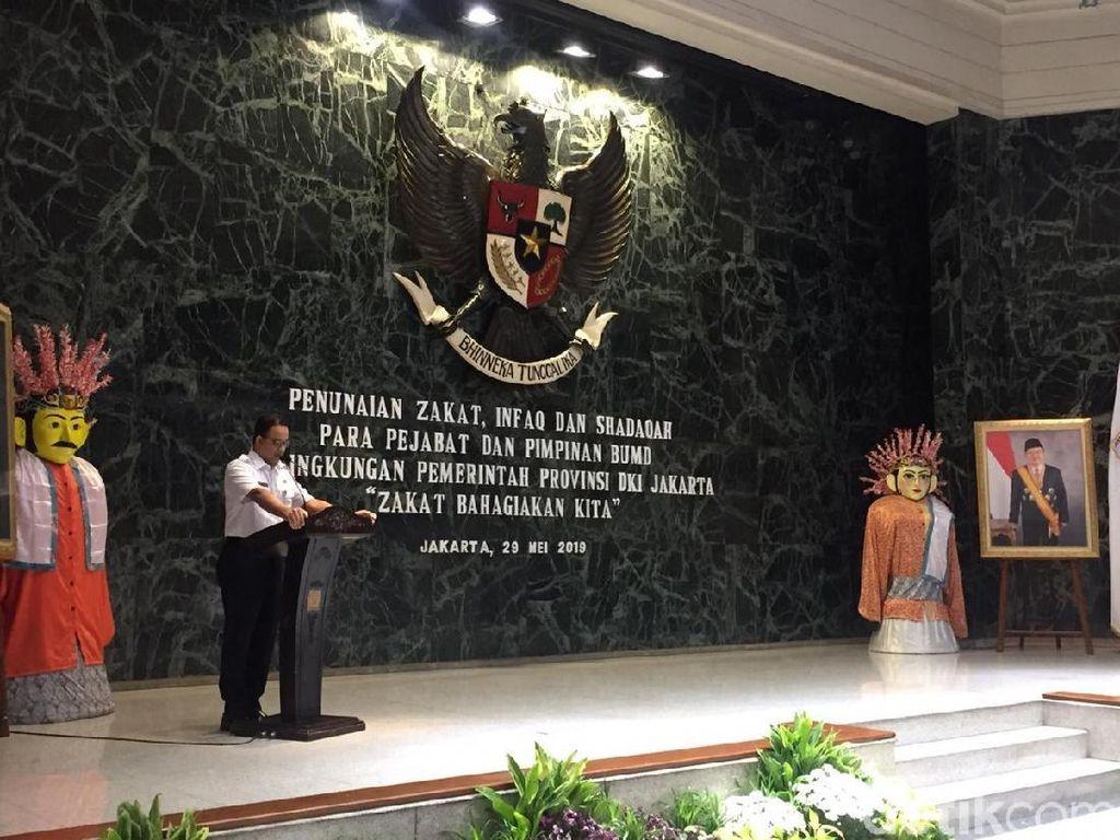 Hemat Biaya, Anies Ingin Kegiatan Baznas DKI Digelar di Balai Kota