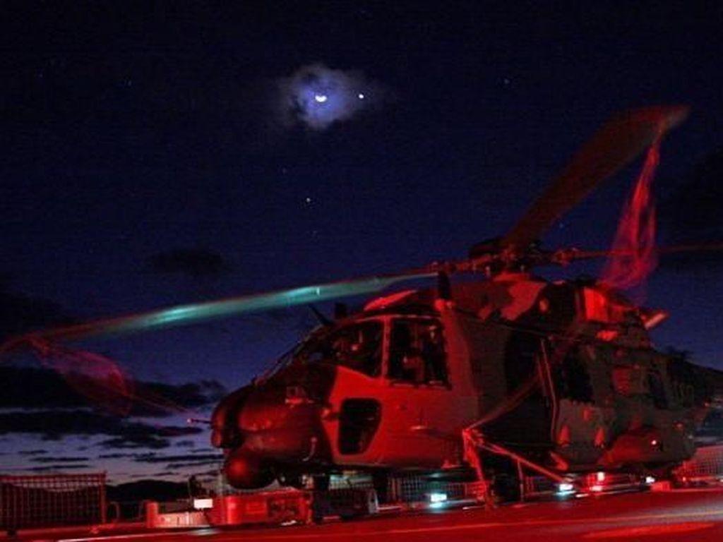 Helikopter Australia Diserang Laser Saat Lintasi Laut China Selatan