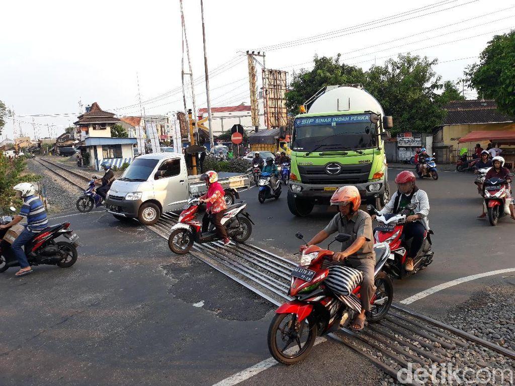 Perlintasan Joglo Diprediksi Paling Macet di Solo Selama Lebaran 2019