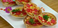[SL] Resep Pizza Cup, Sajian Istimewa untuk Rayakan Lebaran