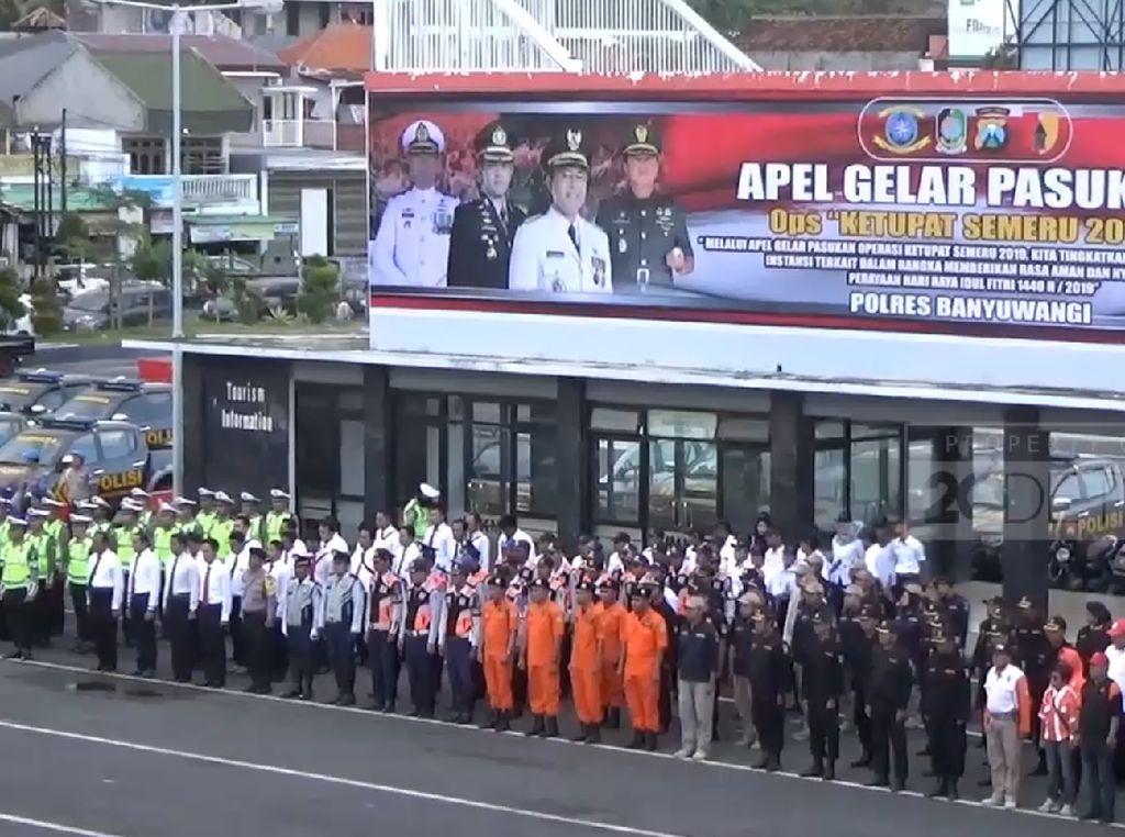 1.200 Personel Gabungan Siap Amankan Lebaran di Banyuwangi