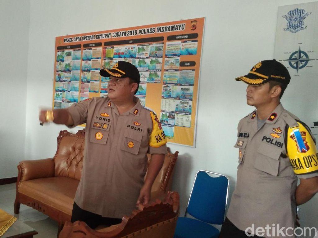 Polres Indramayu Cek Kesiapan One Way di Tol Cipali