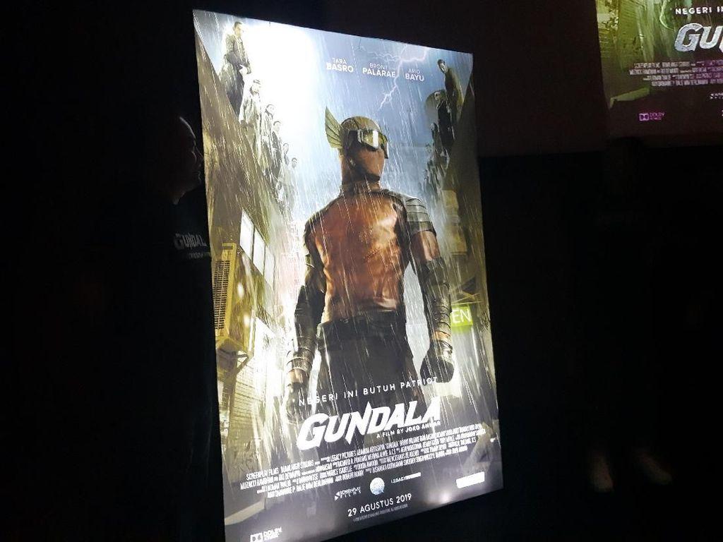 Dibuat di Los Angeles, Kostum Gundala Satu Produksi dengan Daredevil