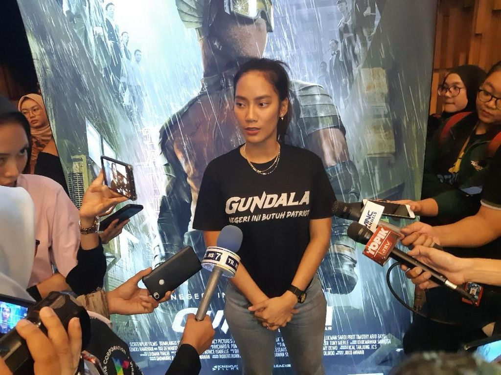 Tara Basro Perankan Justice Social Warrior di Film Gundala