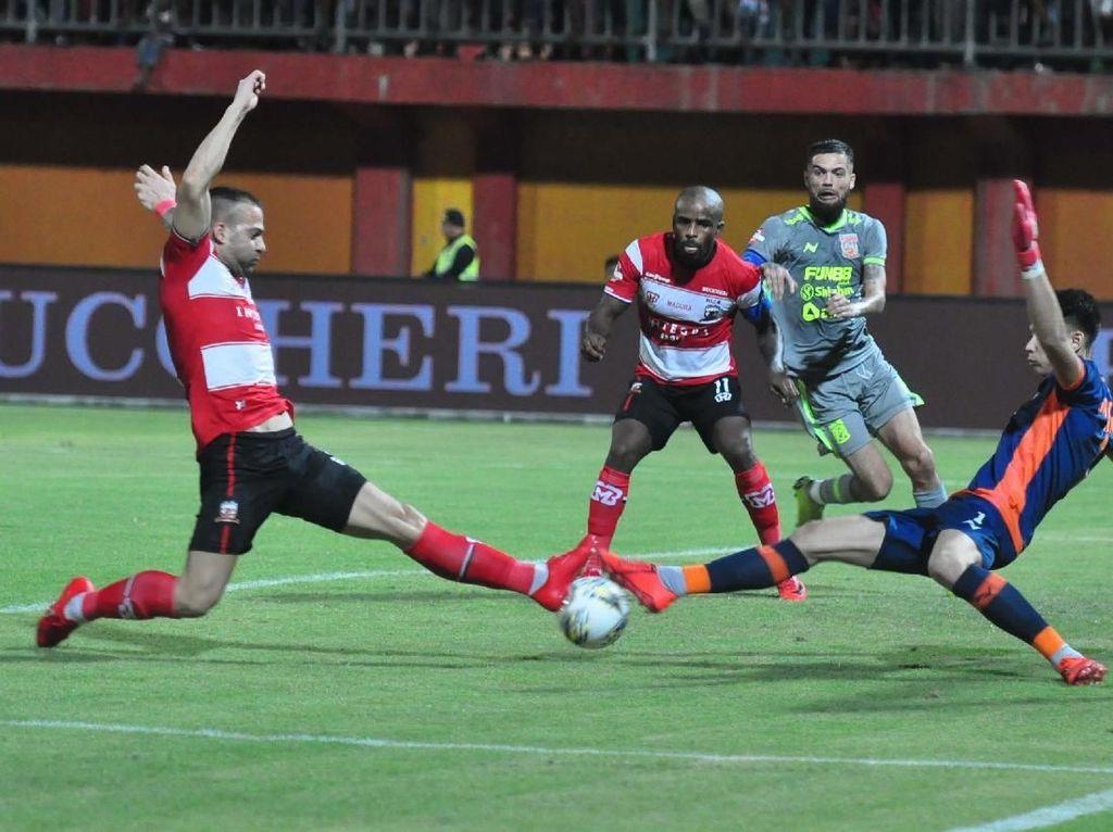 Madura United vs Borneo FC: Laskar Sapeh Kerab Menang 3-0