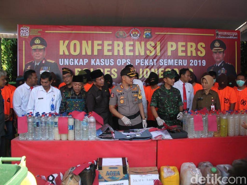 217 Kasus dalam Operasi Pekat di Bojonegoro, Didominasi Premanisme