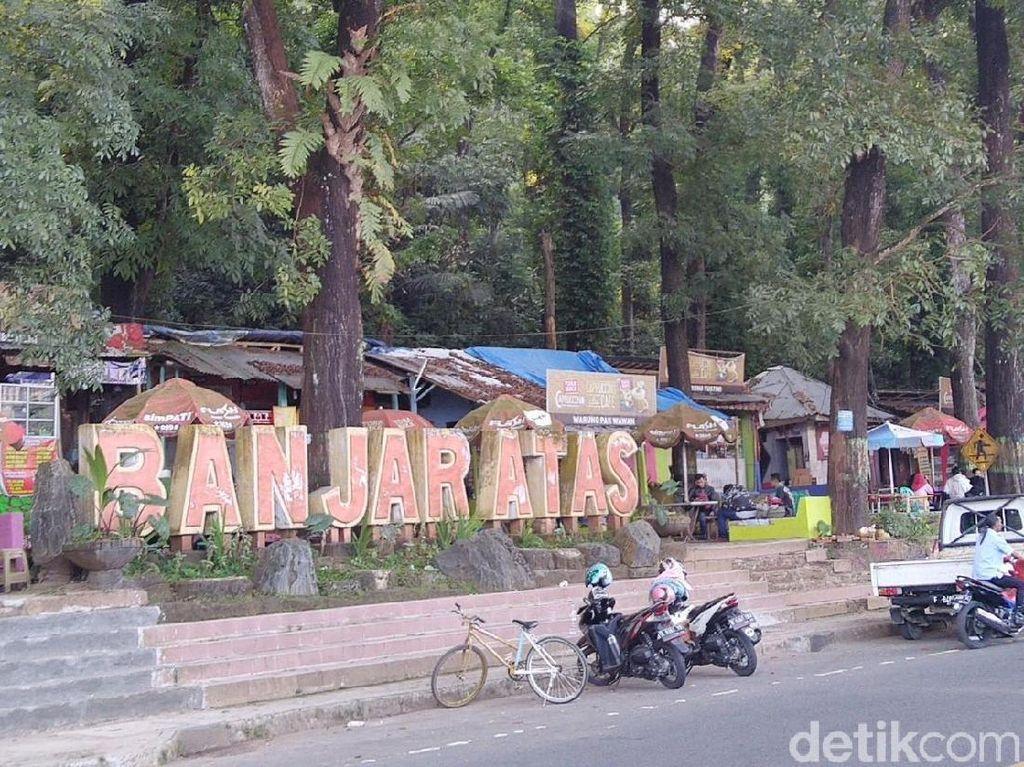Sejuk! Ini Rest Area Favorit Pemudik Bermotor di Banjar
