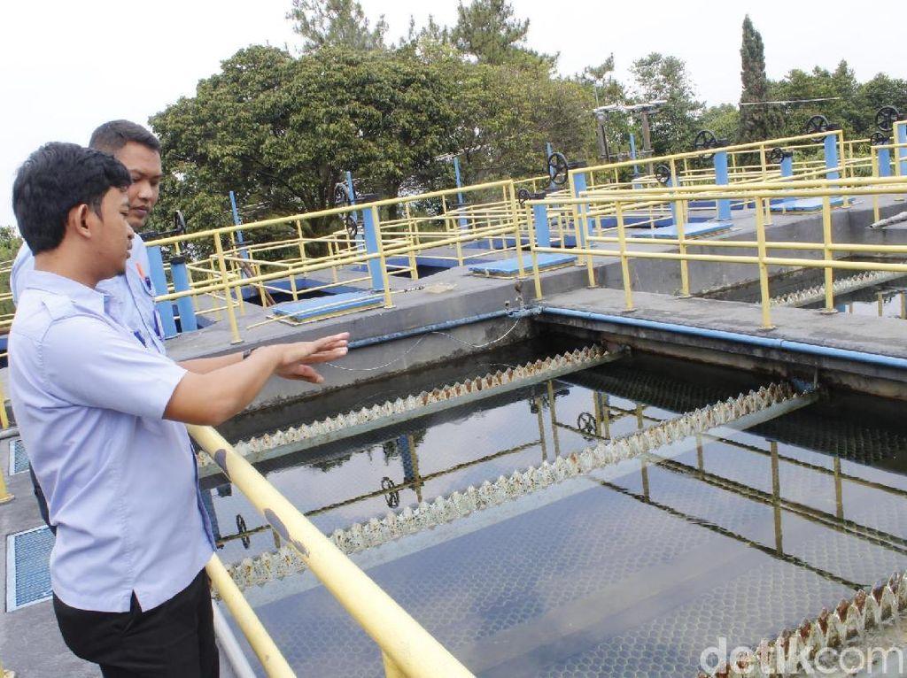 PDAM Siagakan Posko Air Bagi Pemudik di Nagreg dan Cikaledong