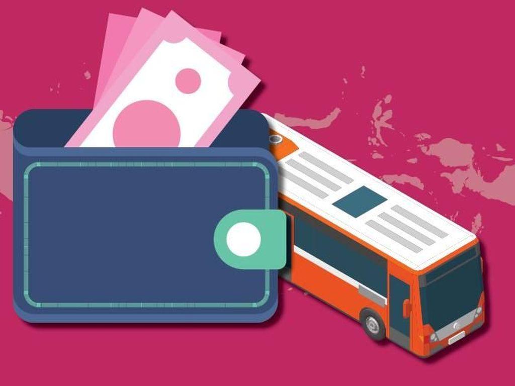 Daftar Tarif Bus dari Kampung Rambutan