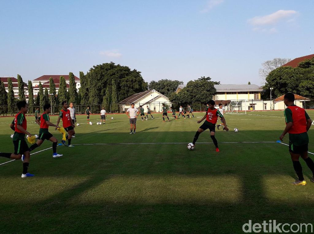 TC di Yogyakarta, Indra Sjafri Mulai Seleksi Pemain untuk SEA Games 2019