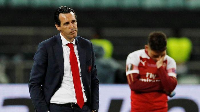Performa buruk Arsenal pada babak kedua jadi biang keladi kekalahan mereka atas Chelsea di final Liga Europa (Foto: REUTERS/Phil Noble