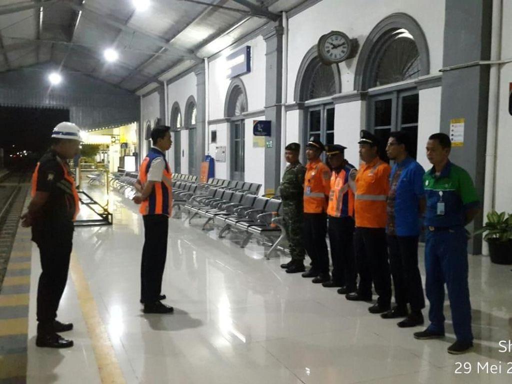 Mulai H-7 Pemudik Kereta Api di Stasiun Probolinggo Meningkat