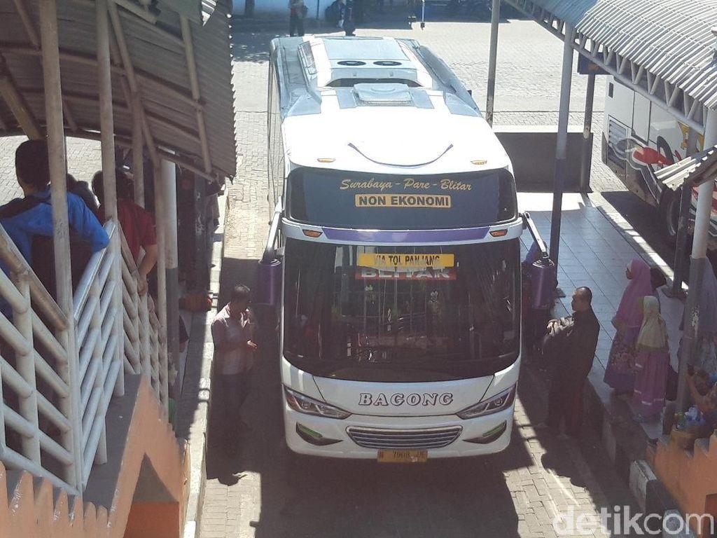 300 Bus Cadangan Disiapkan Antisipasi Lonjakan di Terminal Purabaya