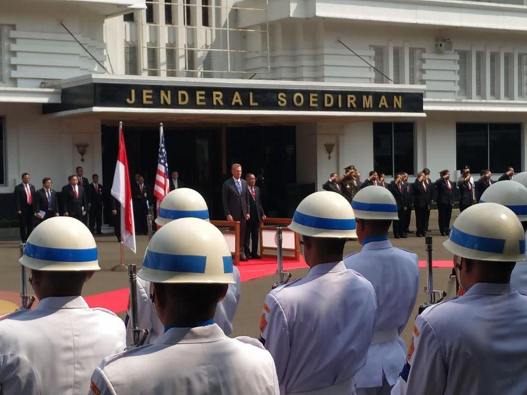 Ryamizard Bertemu Plt Menhan AS Bahas soal Program Perdagangan Senjata