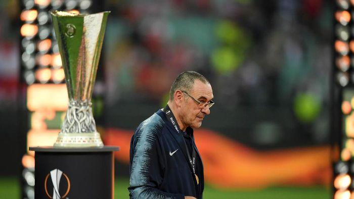 Maurizio Sarri menjadi pelatih baru Juventus. (Foto: Shaun Botterill/Getty Images)