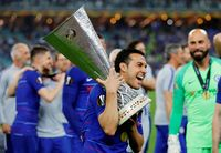 Pedro yang musim lalu mempersembahkan piala Liga Europa untuk The Blues