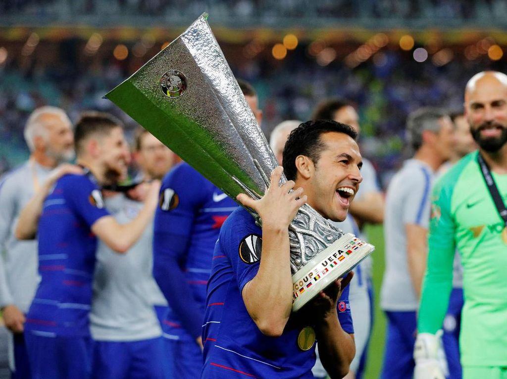 Lengkap Sudah Koleksi Piala Pedro Rodriguez