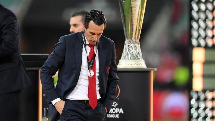 Unai Emery yakin pesona Arsenal sebagai tim besar tak luntur meski gagal mentas di Liga Champions (Foto: Michael Regan/Getty Images)