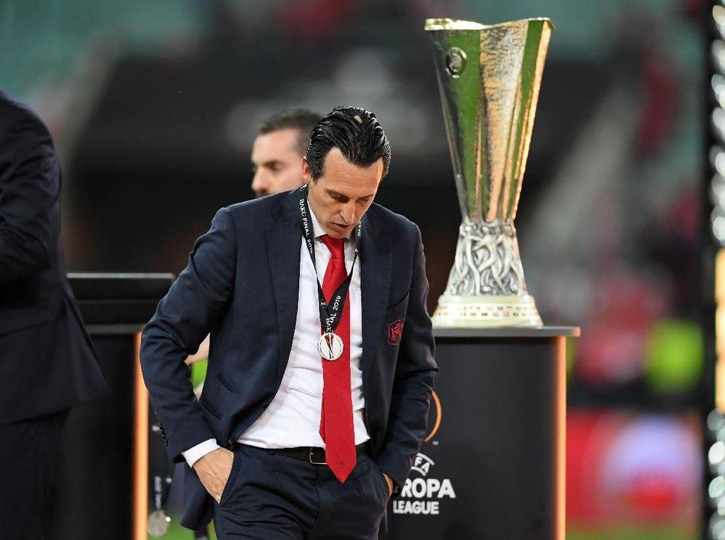Kalah Telak di Final Liga Europa, Emery: Masa Depan Arsenal Cerah