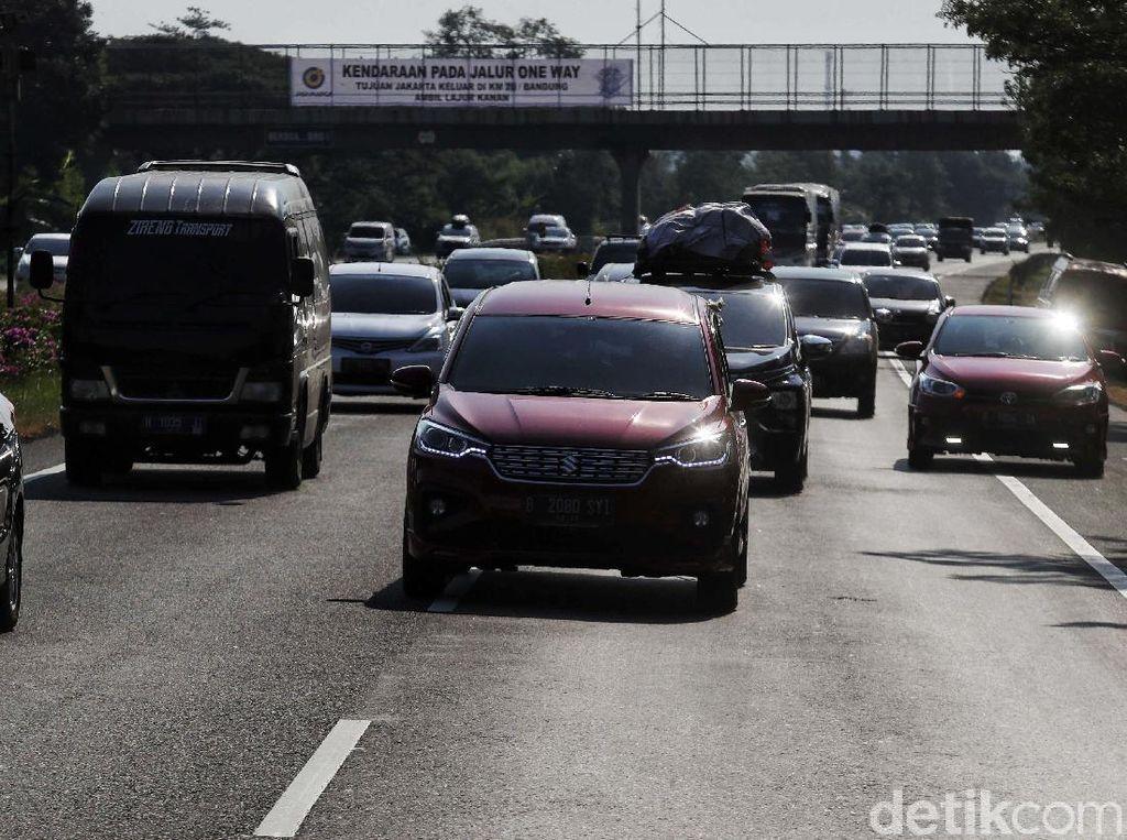 Skenario Arus Balik: One Way Semarang-Cawang hingga Diskon Tarif Tol