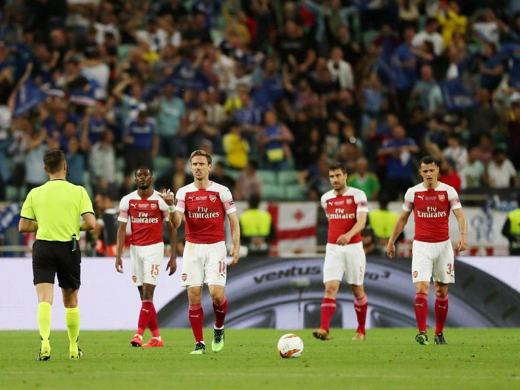 Kumpulan Ekspresi Kesedihan Pemain-Suporter Arsenal