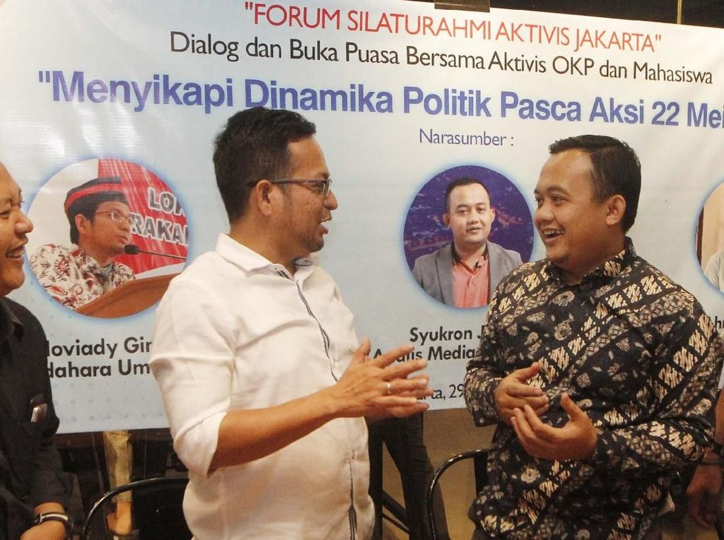 Dialog Dinamika Politik Pasca Aksi 22 Mei