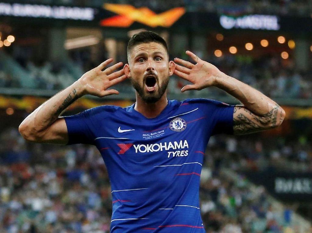 Top Skor Liga Europa: Olivier Giroud Teratas