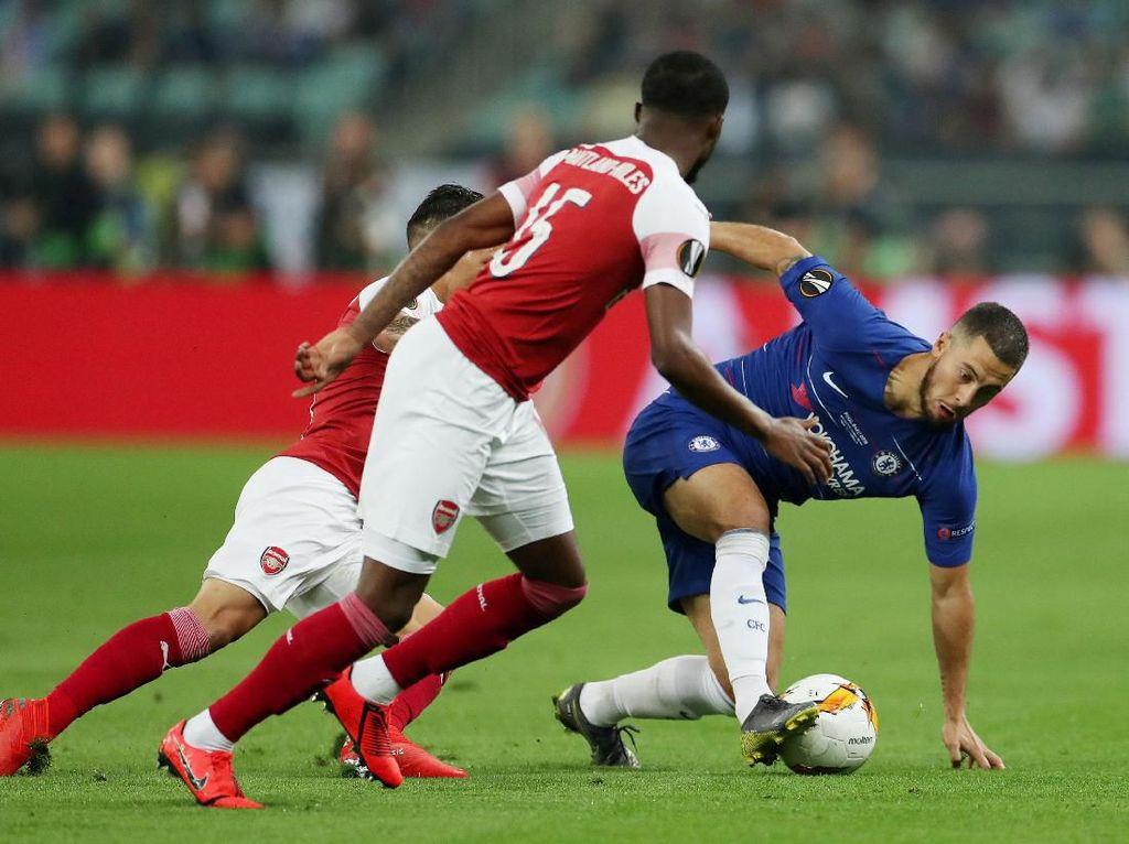 Eden Hazard Menghancurkan Arsenal di Baku