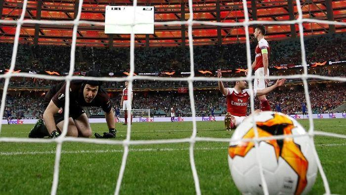 Pemain Arsenal, Petr Cech. (Foto: Phil Noble/Reuters)