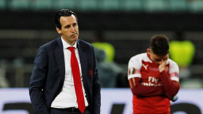 Manajer Arsenal, Unai Emery. (Foto: Phil Noble/Reuters)